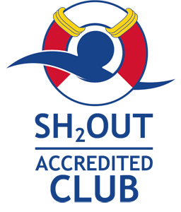 SH2out Accredited Club logo