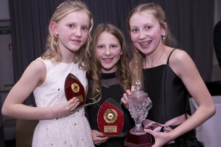 Girls club championship winners