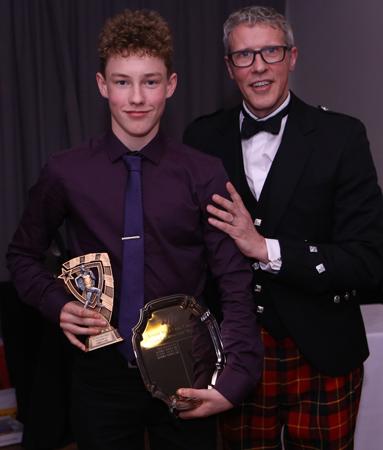 Junior coach's award Eammon Clowes