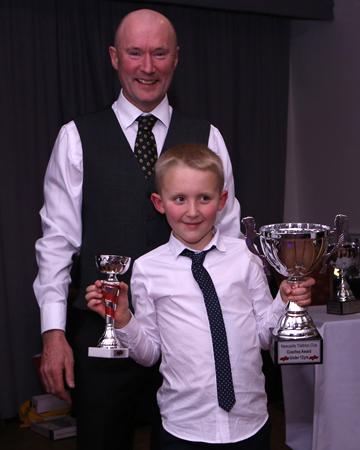 Junior coach's award Harvey Taylor