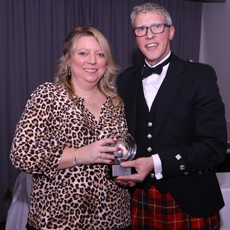 Lisa Adamson volunteer winner