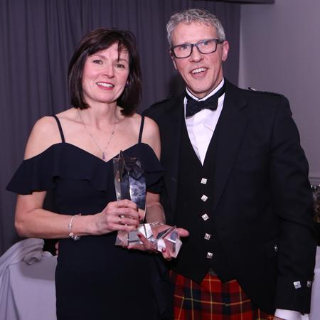 Marie Bebbington, most dedicated winner