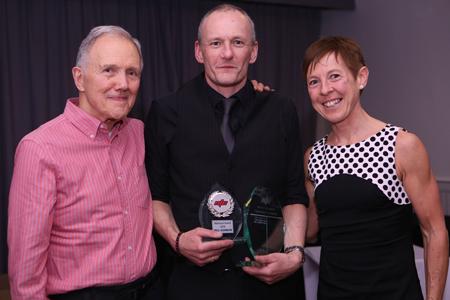 Paul Adamson, with Ken and Julia Matheson